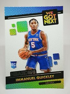 Panini Hoops 2020-21 N19 NBA We Got Next New York Knicks RC 25 Immanuel Quickley
