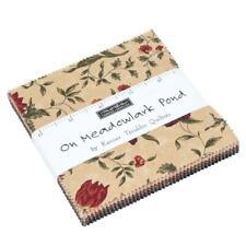 "Moda ~ On Meadowlark Pond~Charm Pack~Kansas Troubles  (42)  5"" x 5"" ~100% Cotton"
