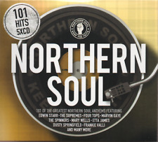 101 NORTHERN SOUL Various Artists NEW & SEALED 5CD set (SPECTRUM) SOUL R&B 60s