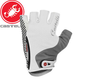 Castelli W Rosso Corsa Womens Cycling Gloves | White | Sizes M, L, XL