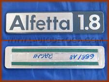 ALFA ROMEO ALFETTA 1.8 - SCRITTA LOGO BADGE POSTERIORE