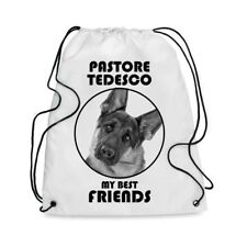 Borsa Sacca cane PASTORE TEDESCO MY BEST FRIEND