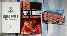 ROBERT MUCHAMORE SIGNED PEOPLE'S REPUBLIC & DARK SUN BOTH 1/1 UK BRAND NEW