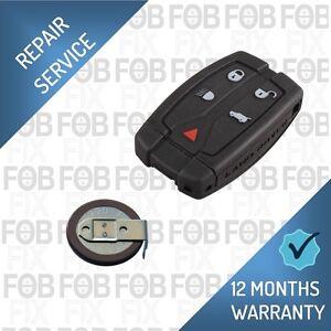 Land Rover Freelander 2 Remote Key Fob Repair / Recase / New Battery Fix Service