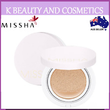 [Missha] M Magic Cushion Cover Lasting 15g + Refill *NEW 2018* BB Cream Cushion