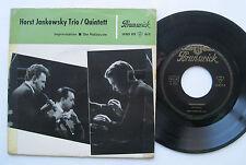 "7"" EP - Horst Jankowsky Trio / Quintett - Improvisation / Der Holzwurm"