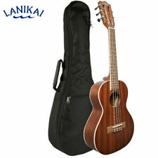 Lanikai MA-5T Mahogany Series Low and High G 5 String Tenor Ukulele w/ Carry Bag