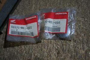 HONDA GENUINE VF1100C V65  VF750C V45 HAND HANDLE BAR END CAPS 53171-MB1-000 OEM