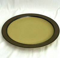 "Vintage Carriage House Stoneware Dinnerware Platter Serving Plate 12 1/4"""