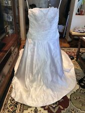 wedding dress size 10 Brand New With Tags+shoes