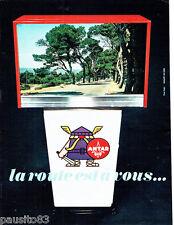 PUBLICITE ADVERTISING 066  1967  Antar  carburants  par Rapha