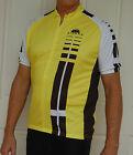 Jivana Cycling Bike short Sleeve Jersey mens womens Yellow