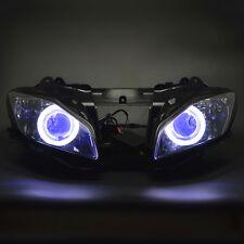 Assembly Headlight Projector Demon Angel Eyes Kits For Yamaha YZF R6 2006 2007