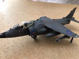 BAE Sea harrier FRS1 Falklands war Model BUILT & PAINTED