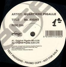 QUARTIERE PIGALLE - Mr. Right - Rise - Rise