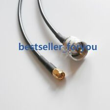 SMA Male to PL259 UHF Male RF Straight Pigtail RG58 Coax Cable 20cm