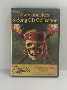 Disney's Swashbuckler 8 song CD Collection Pirates of the Caribbean