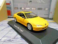 PEUGEOT 406 Coupe gelb yellow 1997 Minichamps Maxichamps 1:43