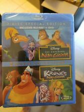 The Emperors New Groove/Kronks New Groove (Blu-ray Disc, 2013, 3-Disc Set) new