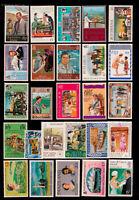 Queen Elizabeth II 1977 Silver Jubilee 26 MNH stamps - 26 countries/territories