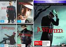 Justified COMPLETE COLLECTION Season 1 - 5 : NEW DVD