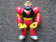 "1994 Mega Man 5.5"" Guts Man Figure Bandai Capcom Nintendo Vintage Toy Gutsman"