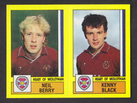 #131-HEARTS-BOLTON WANDERERS-NEIL BERRY PANINI SCOTTISH FOOTBALL LEAGUE 95