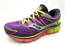 Saucony Triumph ISO Purple Athletic Running PWRGRID+ Shoes Women's 8