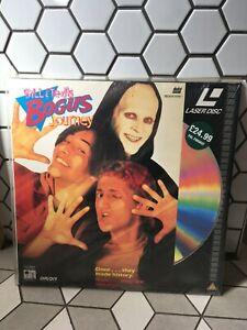 Bill & Ted's Bogus Journey Mint Rare pal uk Laserdisc wrap on 1991 Image Keanu