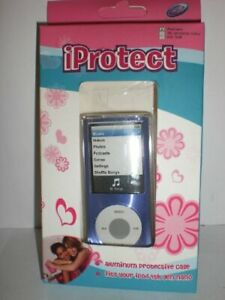 1pc iProtect Purple Aluminum Protective cs For iPod 4th Generation Nano