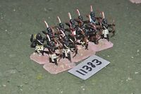 25mm biblical / kushite - archers 12 figures - inf (11383)
