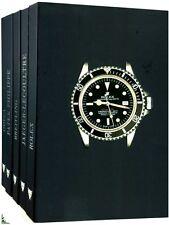 Montres d'exception : Coffret de 5 volumes : Rolex...