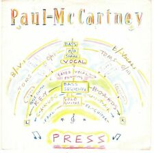 disco 45 GIRI Paul McCARTNEY PRESS - ITS NOT TRUE