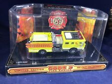 P-37 CODE 3 1:64 SCALE DIE CAST FIRE ENGINE - ENGINE 51 CITY OF LOS ANGELES FIRE
