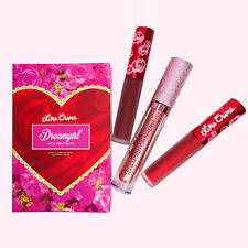 NEW Lime Crime Dreamgirl Lipstick Set Bundle Mix & Match Lip Trio - UK SELLER
