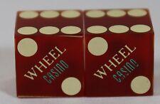 The Wheel Casino Type 1 Casino Dice Las Vegas Nevada NV