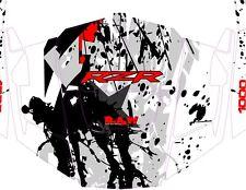 Polaris 1000 rzr Red Graphic Kits Decal Wraps RZR Graphics UTV Doors