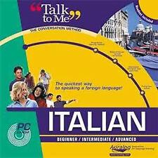 Auralog Háblame Italiano Curso De Idioma-Nuevo
