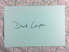David Lampson - Return of Count Yorga - Brenda Forever - Autographed 1971