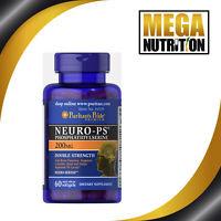 Puritan's Pride Neuro-PS Phosphatidylserin - 200mg  60 Kapseln | Zellmenbranen