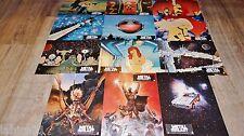 METAL HURLANT Heavy Metal ! jeu rare 12 photos cinema lobby cards animation 1980