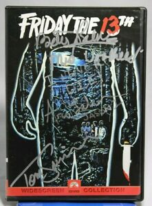 Friday the 13th DVD - JSA Signed by Betsy Palmer, Ari Lehman, Tom Savini