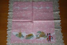 """Furoshiki"" Wickeltuch -Maiko in Kyoto -Made in Japan f. Lunchbox Wand-Deko"