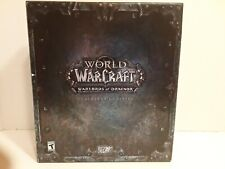 World of Warcraft:Warlords of Draenor -Collector's Edition(PC, 2014)N/S/O-!READ!