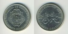 Costa Rica 1975 - 25 Colones Nickel Coin - 25th Anniversary of the Central Bank