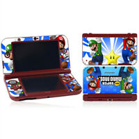 NEW Super Mario Bros Vinyl Skin Sticker DECAL COVER for NEW Nintendo 3DS XL LL