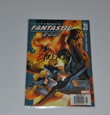 Ultimate Fantastic Four #28 Signed by Greg Land Autographed