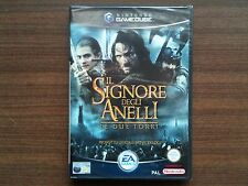"""""""Lord of the Rings: The Two Towers"""" GameCube/Wii Game FACTORY SEALED (ITA) (PAL)"""