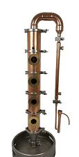Copper plate column, Distillation, Distillery, Still