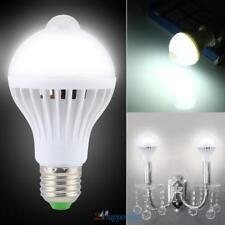9W E27 Light Bulb PIR Infrared Motion Sensor Auto LED Detector 180° Dusk to Dawn